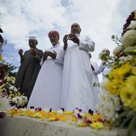 Narathiwat, Thailand: Thai Muslim soldier's funeral